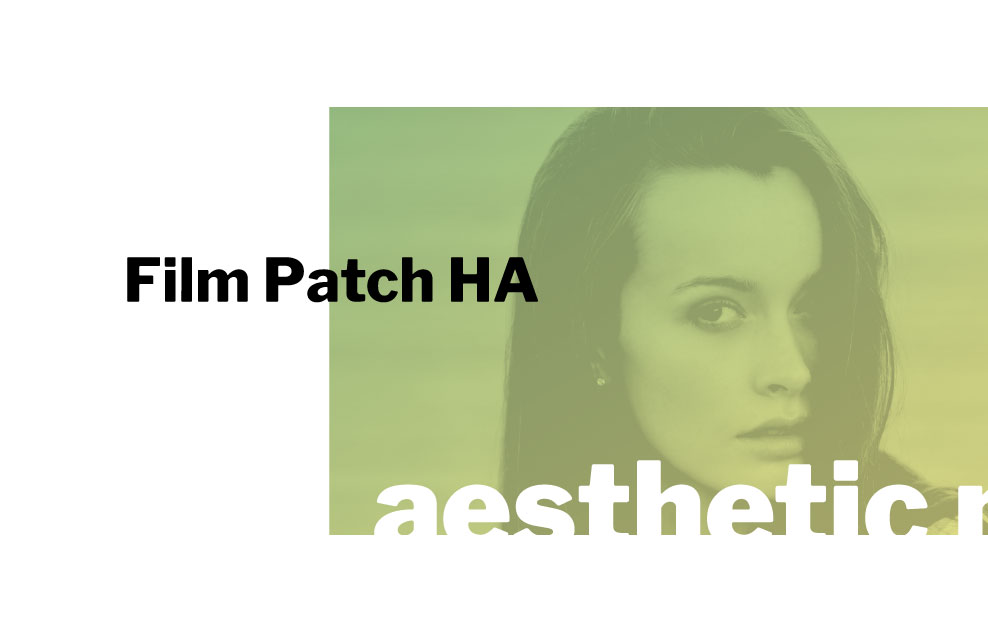 innpharm project Film Patch HA for aestetic medicine and dermocosmetic market