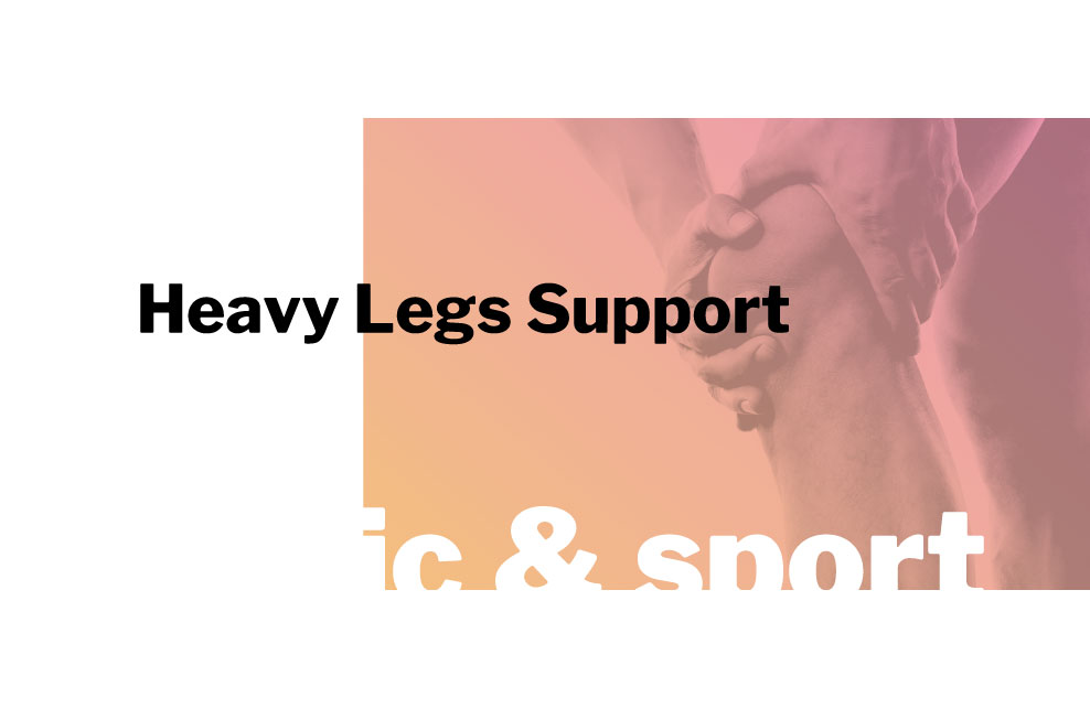 innpharm project Heavy Legs Support for orthopedic and sport market