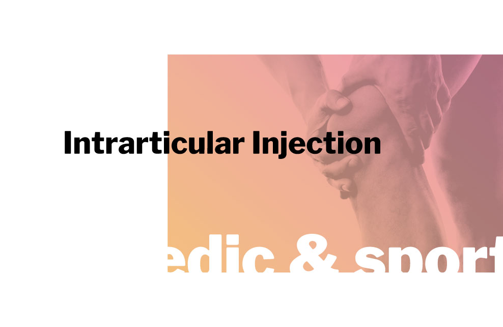 innpharm project Intrarticular Injection for orthopedic and sport market