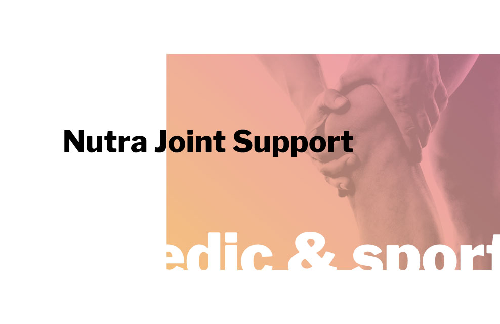 innpharm project Nutra Joint Support for orthopedic and sport market