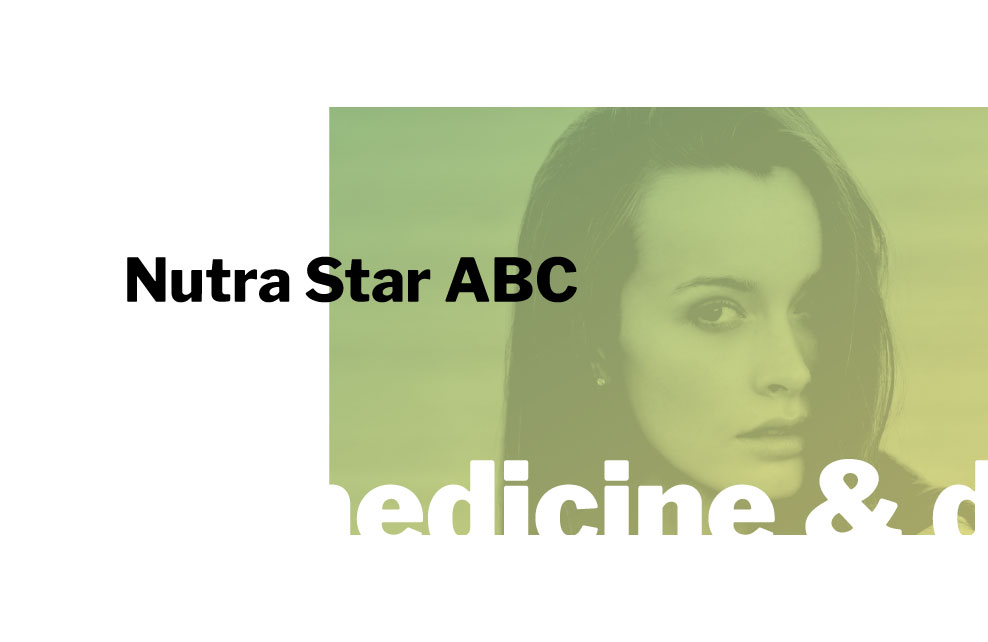 innpharm project Nutra Star ABC for aestetic medicine and dermocosmetic market
